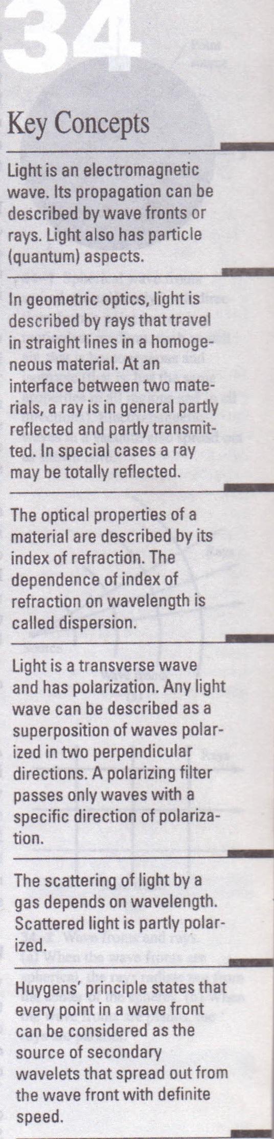 HOMEWORK ANSWERS  Light and Geometric Optics