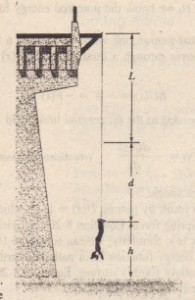 Sample Problem 8-4. A bungee-cord jumper at the lowest point of the jump