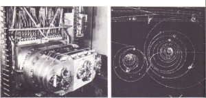 Fig. 47.11. Hydrogen bubble chamber at the Rutherford Laboratory, Chilton Berkshire (for some particle tracks see Fig. 47.12)