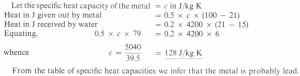Cheat calculations