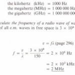 The Sl unit of frequency