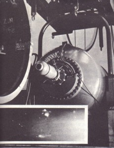 (a) 2 million volt X-ray equipment being used to examine the seam weld of a fusion-welded pressure vessel. The inset picture is a reproduction of the radiograph showing a defective joint