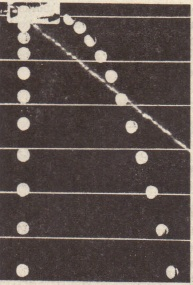 One ball is released frorn rest at the same instant that another ball is shot horizontally to. the right. Their vertical motions are identical