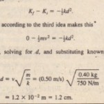Sample Problem Kinetic Energy And Work
